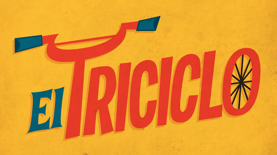 El Triciclo - fondo amarillo
