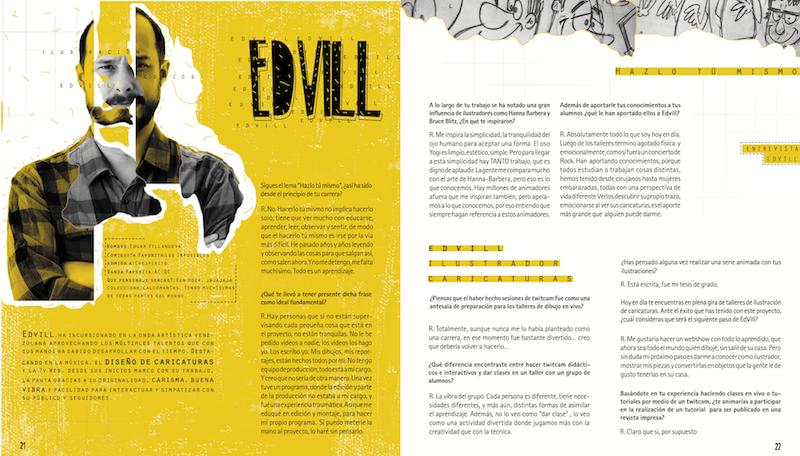 Entrevista Ed Vill