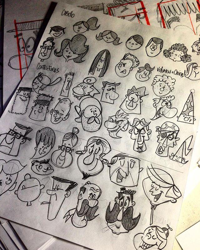 Creación de personajes Sketch + Toons