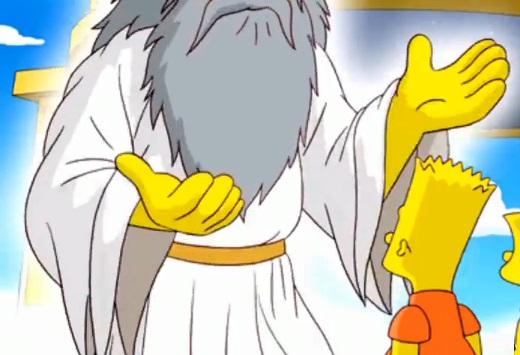 DIos Simpsons dedos